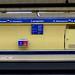 Copa Davis 2019. Estación de Metro de Lavapiés, dedicado al equipo de Rusia (Madrid)