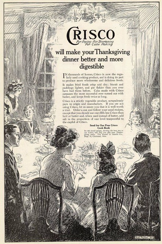 Crisco 1912 Thanksgiving