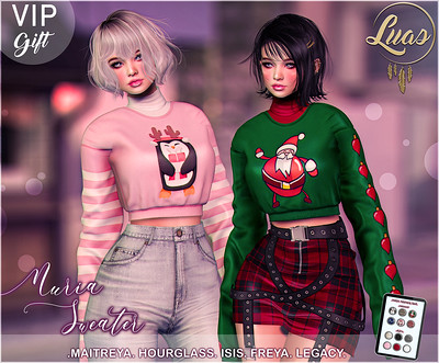 Luas Nuria Sweater VIP Gift November