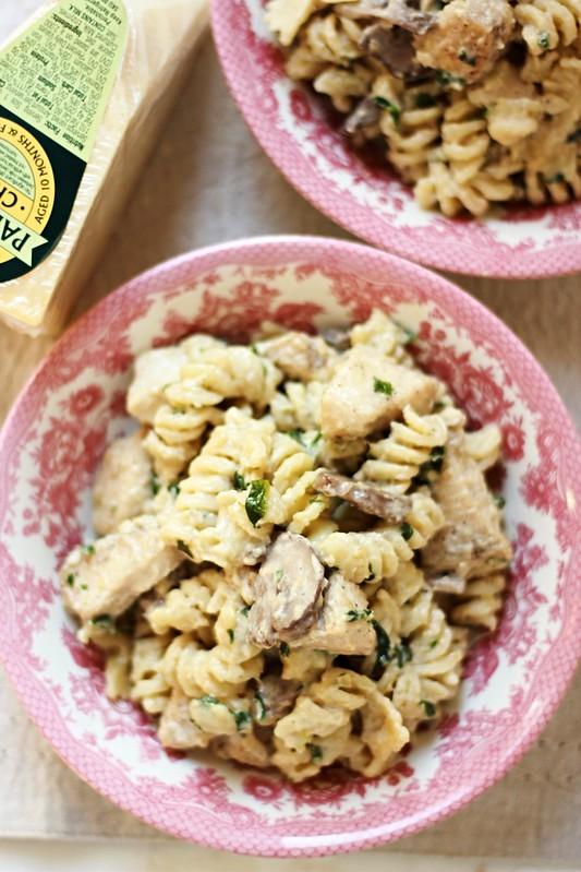 Garlic Parmesan Pasta2