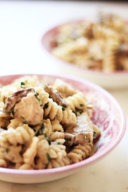 Garlic Parmesan Pasta 3