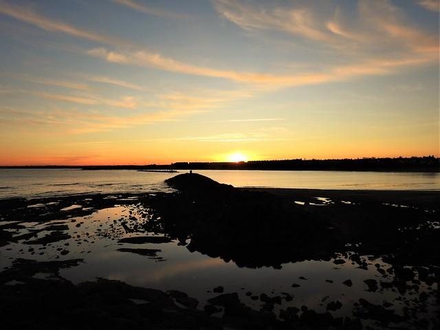 November Sunset - Newbiggin-By-The-Sea