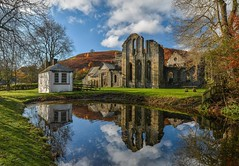 Reflecting On Valle Crucis Abbey