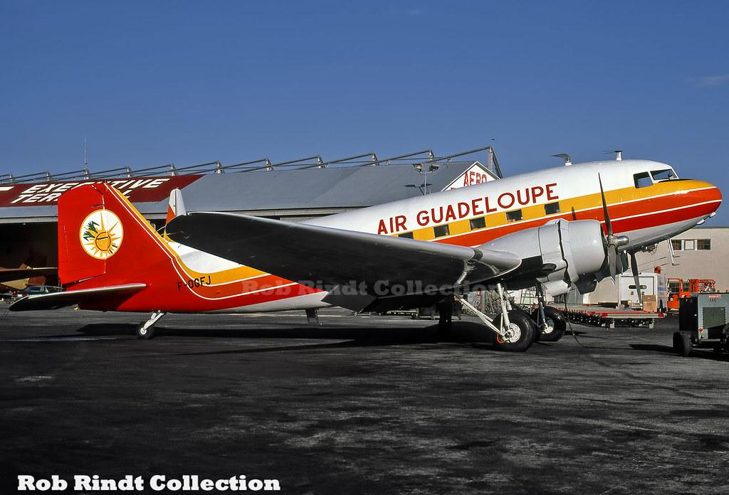 Air Guadeloupe DC-3 F-OGFJ