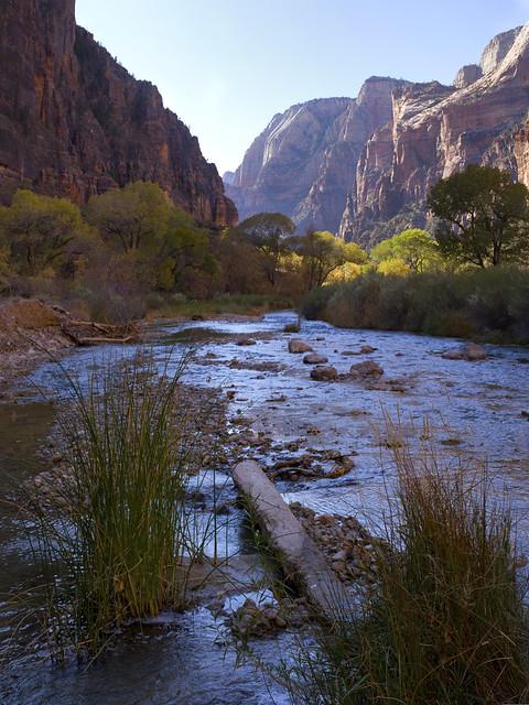 Zion National Park, Utah, Virgin river