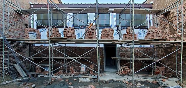 The Bricks Start to Go Up
