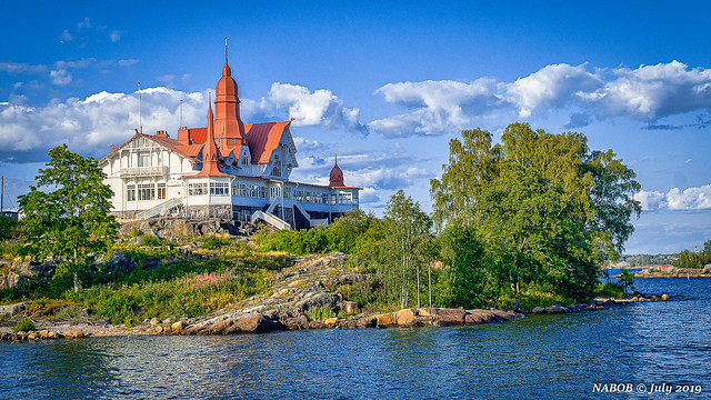 Helsinki, Finland: East of the city on the Gulf of Finland