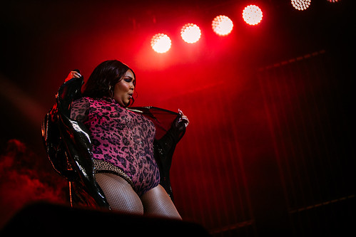 Lizzo live at AFAS Live