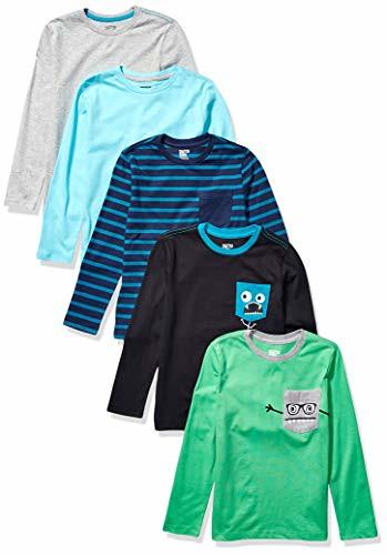 Spotted Zebra Boys Long-Sleeve T-Shirts
