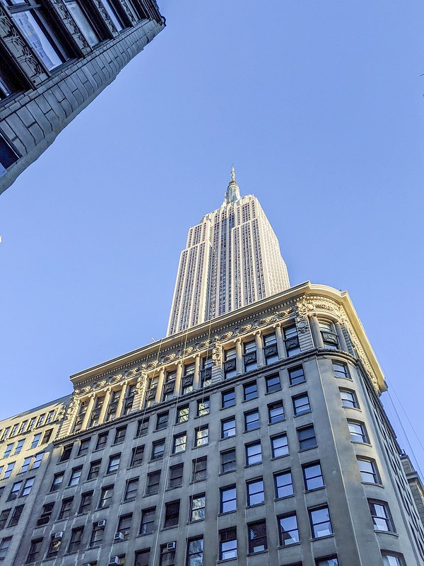 Das Empire State Building.