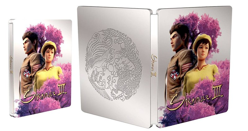 Shenmue 3 - Scanavo Steelbook Open