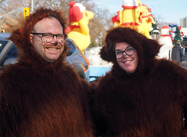 Very Hairy Couple