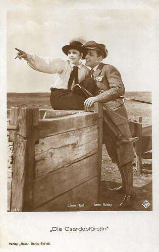 Liane Haid and Imre Ráday in Die Csardasfürstin (1927)