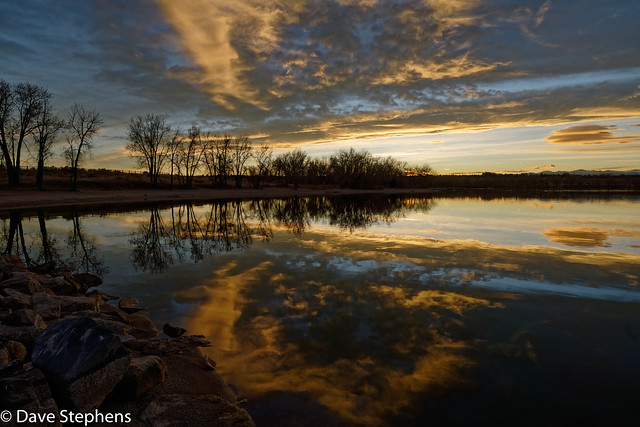 Sunset At Cherry Creek Reservoir
