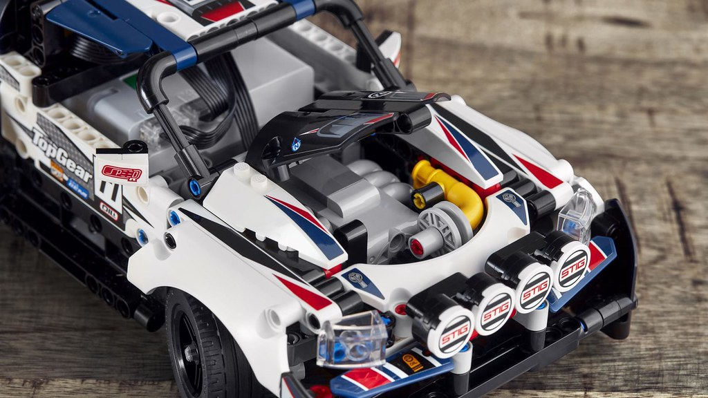 【樂高 × 頂級跑車秀】聯手帶給你可操控的帥氣拉力賽車! LEGO 42109 科技系列【App-Controlled Top Gear Rally Car】發表