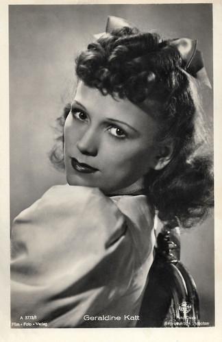 Geraldine Katt in Wenn der junge Wein blüht (1943)