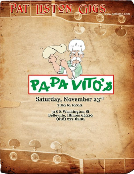 Pat Liston 11-23-19