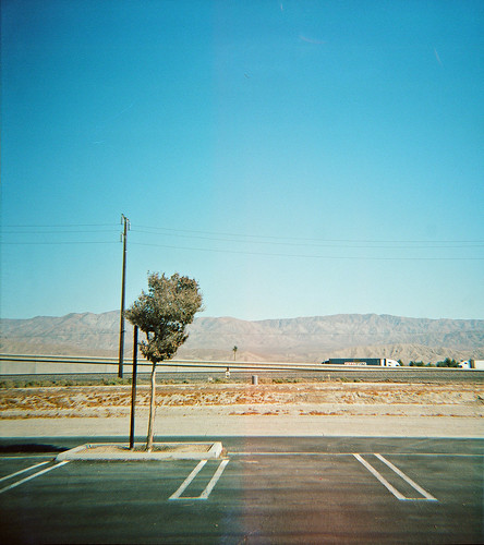 View across I-10, Coachella Valley