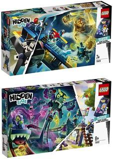 潛藏在各個角落的鬼怪是多到抓不完的! LEGO 70427~70432 多款「幽靈秘境」(Hidden Side) 系列盒組發表~