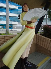 Character: Wind from Storm Warriors. Artist: Ma Wing-shing