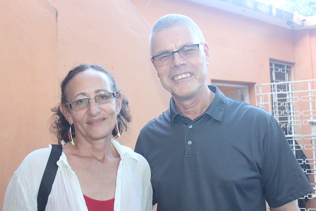 Luz Maria with Dr. Phil Frusti.