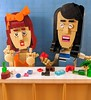 Drunk LEGO building at the TRY channel - Lolsy and Mary-Claire by Reasonably Clever Chris
