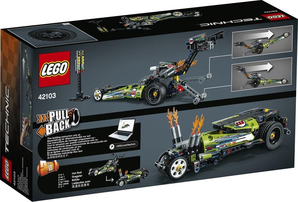 競速賽車、特技摩托車登場,還有硬派的大吊車~ LEGO 42101~42106、42108 科技系列 2020 上半年部分盒組公開!