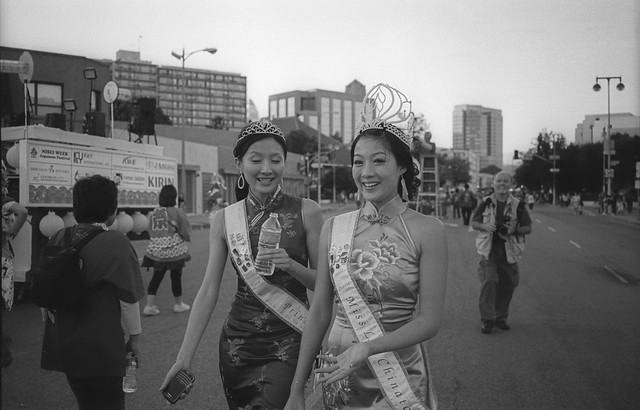 miss chinatown and a princess