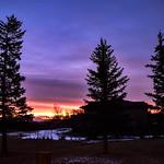 17. November 2019 - 7:02 - A beautiful sunrise this morning.  Hope everyone has a wonderful week.