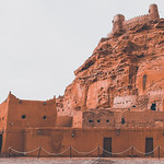 Castle in Sakakah, Saudi Arabia Zaabal Castle
