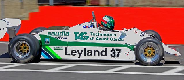 'F1 Legends 2'   Williams FW07C Classic Fi race car,Masters Historic Racing,Brands Hatch,Kent.