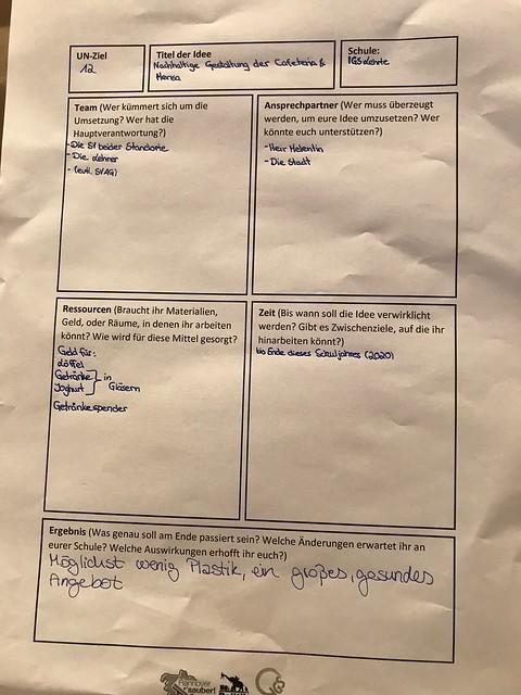 BNE-Gesamtschulkongress - Umsetzung in den Schulen