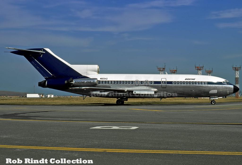 Boeing Company B727-30 N9234Z