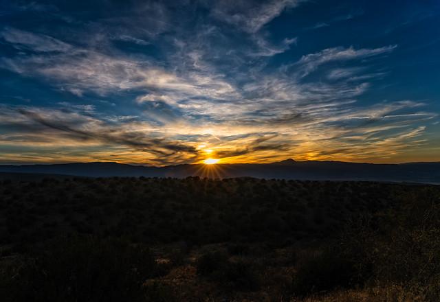 DSC00145-E - Fall Sunset