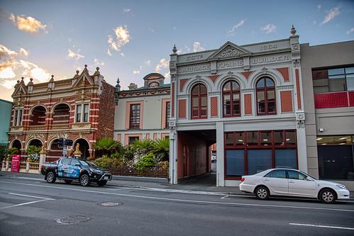 luminosity7 launceston tasmania nikon d850 streetview victorian architecture carriage builder sunset