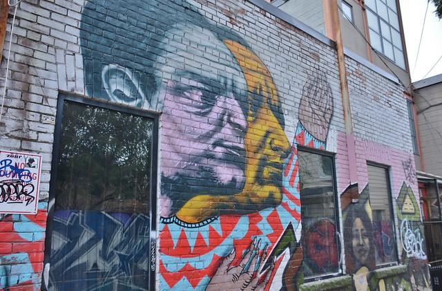 Ossington Laneway Mural Project, Humbert Street, Toronto, ON
