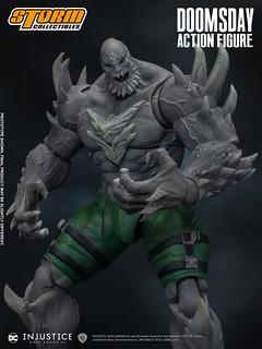 銳利尖刺、狂暴姿態帶來極強壓迫感! Storm Collectibles《超級英雄:武力對決》毀滅日 Doomsday 1/12 比例可動人偶