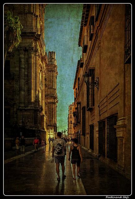 Málaga_Andalucía_Calle Molina Lario_ES