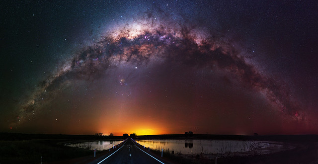 Milky Way at Quairading, Western Australia