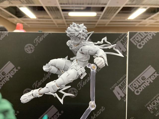 本系列讓人超期待的日漫英雄終於來了! 海洋堂 Amazing Yamaguchi 系列《我的英雄學院》「綠谷出久 (緑谷出久)」、「歐爾麥特(オールマイト)」可動人偶 原型公開!!!