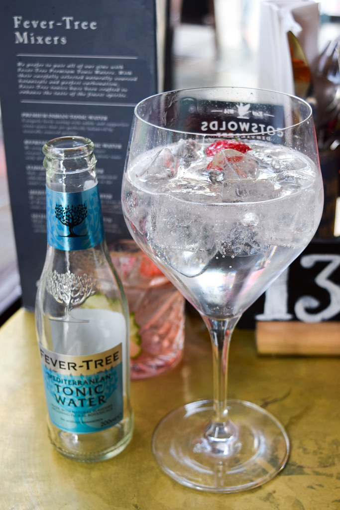 Gin Mare & Fever Tree Tonic at The Drapers Arms, Canterbury