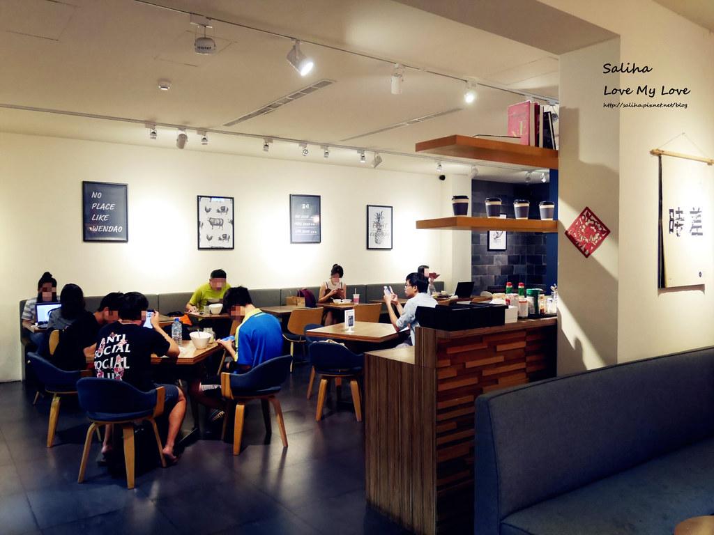台北大安森林公園附近不限時可帶寵物友善咖啡廳餐廳推薦溫叨Cafe (2)