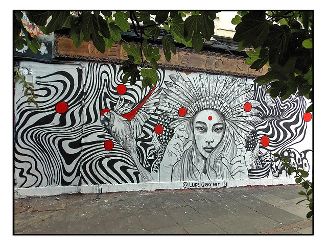STREET ART by LUKE GRAY