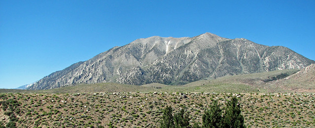 Sierra Nevada Batholith (Cretaceous; view from near Bishop, California, USA) 3