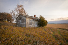 Abandoned House on the Iowa Prairie