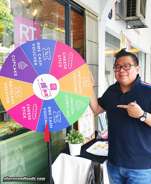 rt pastry 16 anniversary spin and win