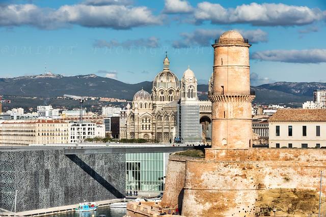 Marseille Mucem et catédrale la Major -3D0A7379