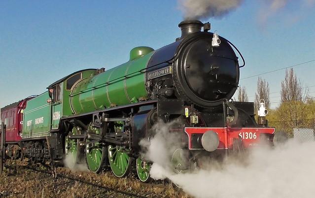 LNER B1 No. 61306 'Mayflower' - York NRM - 18th November 2019