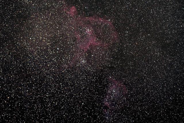 Heart and Soul Nebula by no mod camera