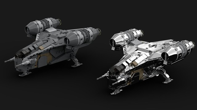 LEGO Razor Crest - Star Wars Mandalorian (Midi Scale)